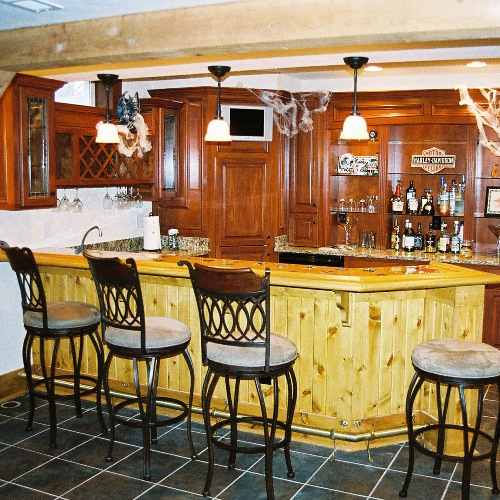 wet bar with rustic wainscoting basement finishing columbus oh basement remodeling columbus ohio