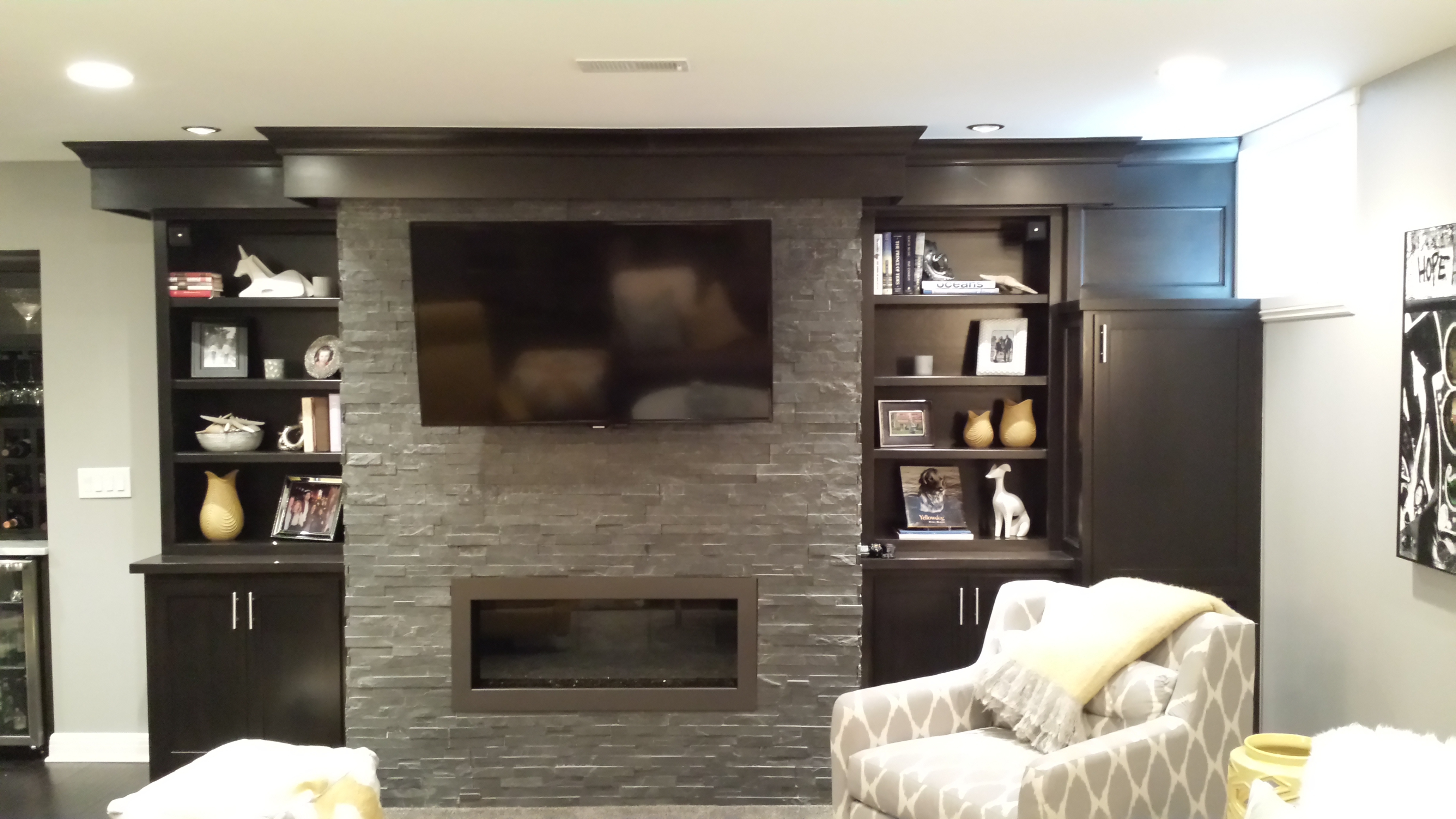 catching wall television grey fireplace dresser gas decorating and inspirations in modern added built soothing designs areas livingroom painted traditional living ideas decors eye decorations