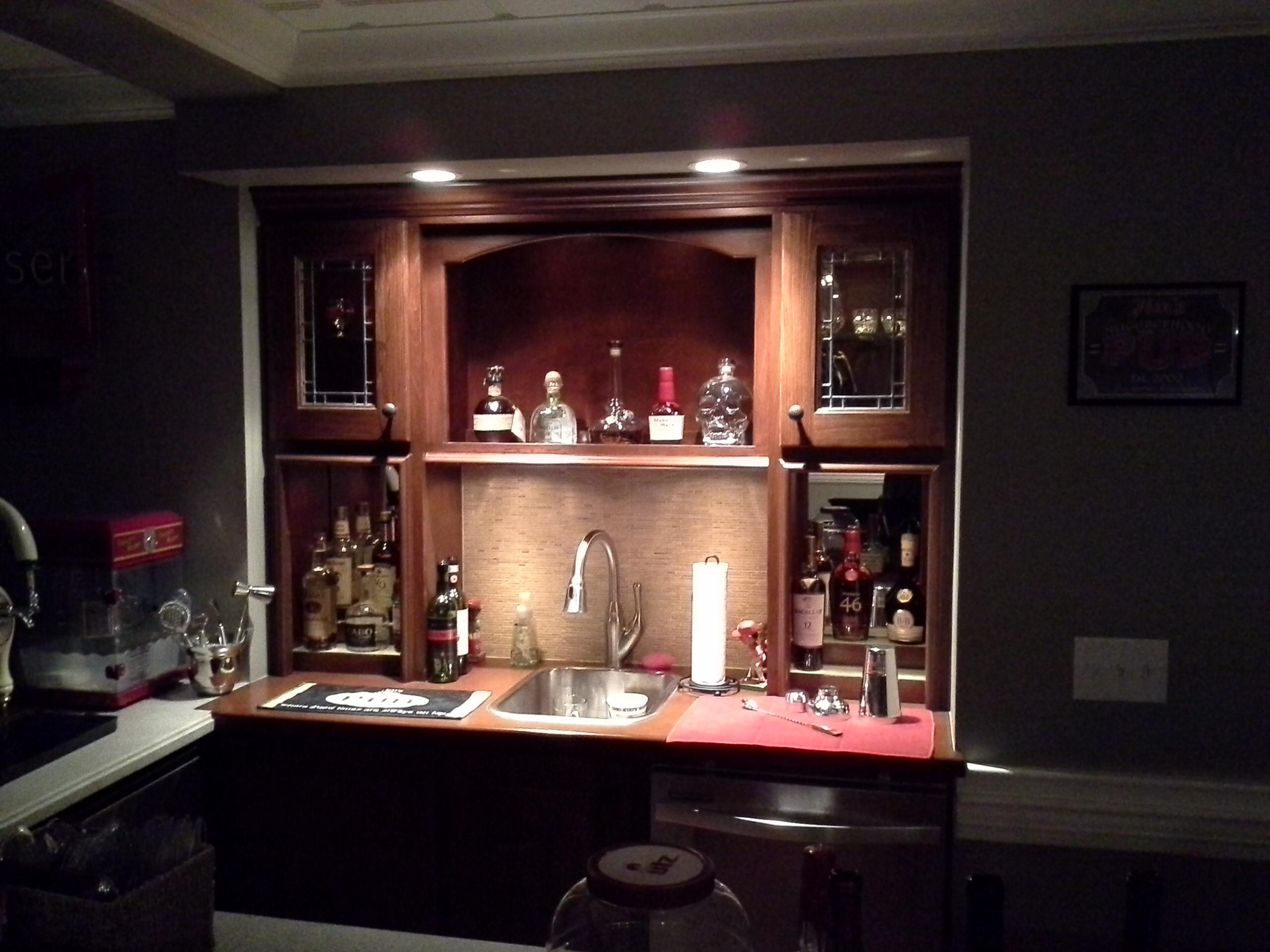 Basement bar Lewis Center