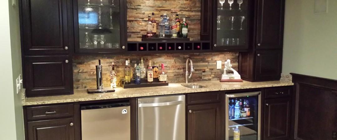 Basement Wet bar ideas New Albany ohio